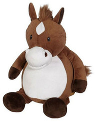 Personalised Embroider Buddy – Horse with a personalised message