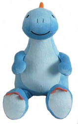 Personalised Blue Dinosaur Cubby with any message on it