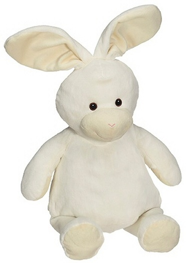 personalised Bunny Rabbit Embroider Buddy with birth details