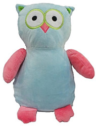 personalised blue/pink owl Cubby