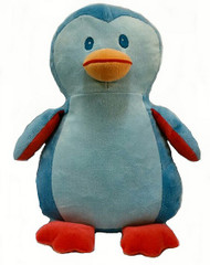 personalised blue penguin Cubby