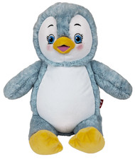 Personalised Hug-Me Cubby - Signature Penguin (Birth Design)