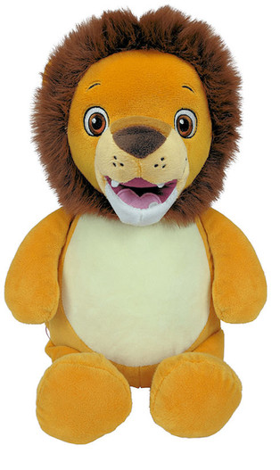 Personalised Hug-Me Cubby - Signature Lion  with a personalised message