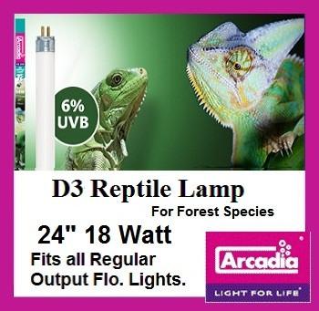 Reptile   Lamp   24   Inch   D3   T8