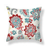 3D Amber Red Cushion Cover