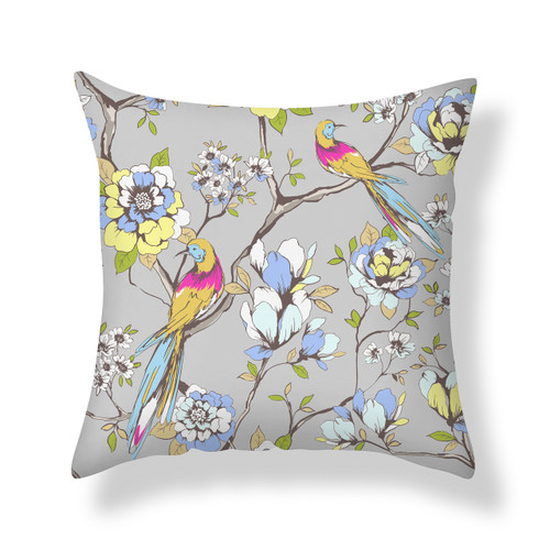 3D Natalie Grey Cushion Cover