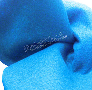 10 Pack Neon Blue Felt Sheets