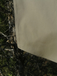 Cover stitch top view