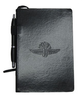 Wing Wheel and Flag Journal w/Pen