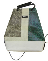Wing Wheel and Flag Drawstring Referee Bag