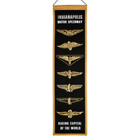 Wing and Wheel Heritage Wool Banner