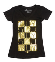 Ladies Bricks Galore V-Neck