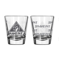 "Snake Pit ""Presented by Coors Light"" Shot Glass"