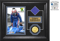 Tony Kanaan 8x10 Framed Firesuit Photo Mint