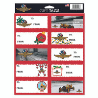 Indianapolis Motor Speedway Holiday Gift Tags
