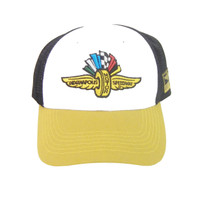 Wing Wheel and Flag Sling Shot Cap