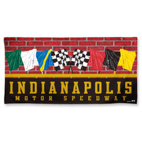Wing Wheel and Flag 30x60 Flags Beach Towel
