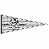 Wing Wheel and Flag Color Me Pennant