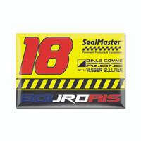 Sebastien Bourdais 2x3 Driver Magnet