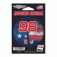 Marco Andretti Round Driver Decal
