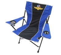 Wing Wheel and Flag Pregame Chair