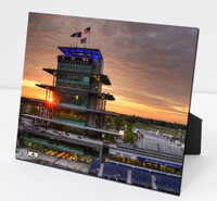 Wing Wheel and Flag Pagoda Plexi 8x10 Framed Picture