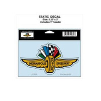 Indianapolis Motor Speedway Cling Decal / Cling