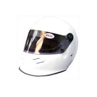 Mini White Open Wheel Helmet 1:2 Scale