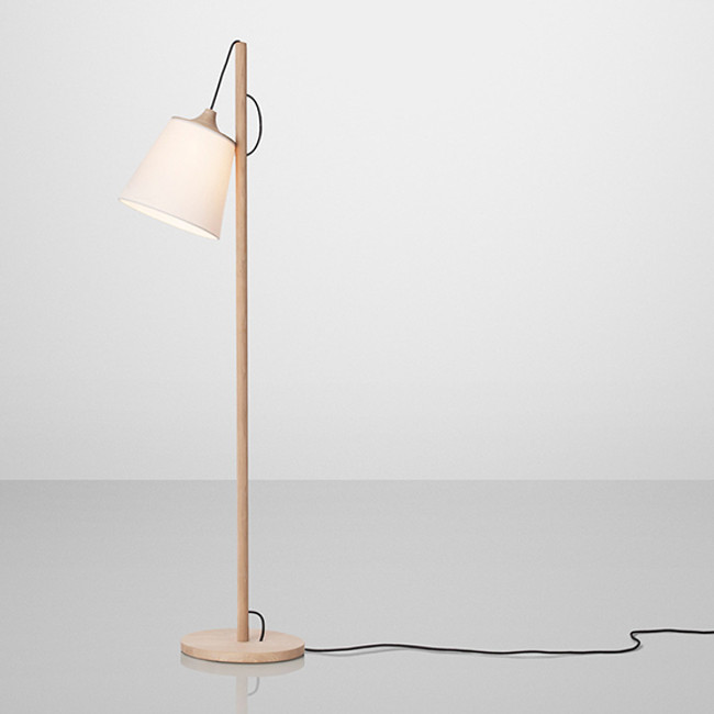 New nordic for Chevron shelf floor lamp