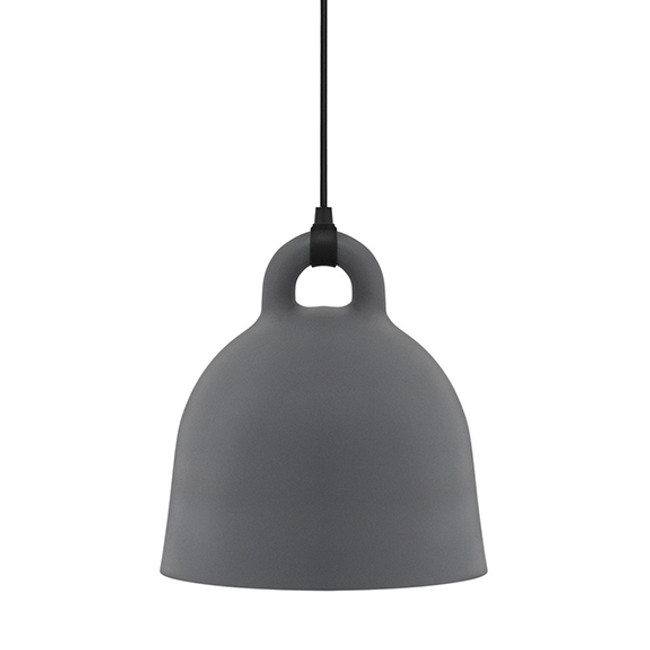 Normann Copenhagen  |  Bell Lamp Grey Small