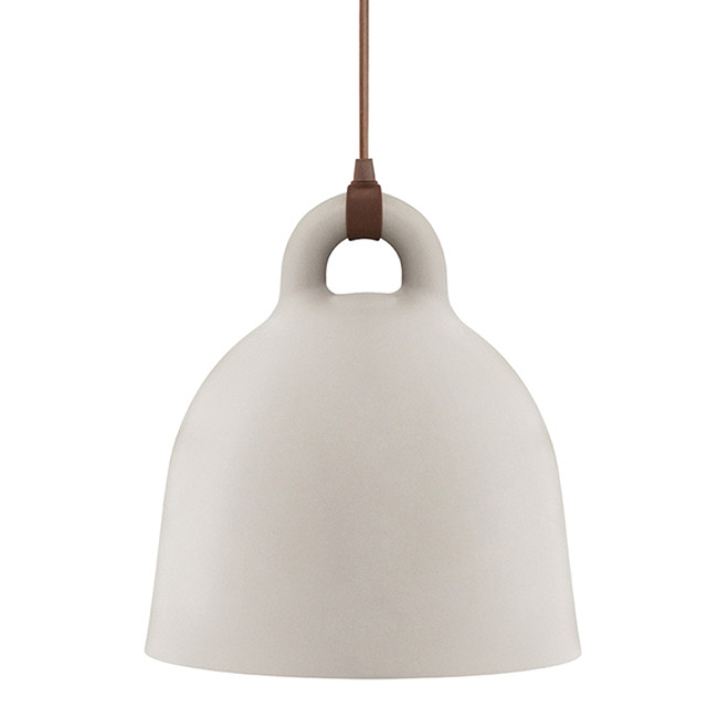 Normann Copenhagen  |  Bell Lamp Sand Medium