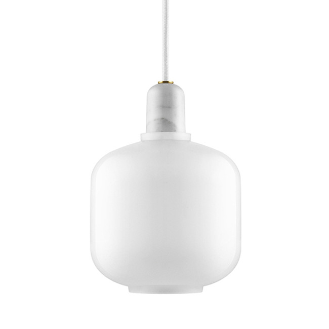 Normann Copenhagen  |  Amp Lamp White/White Small