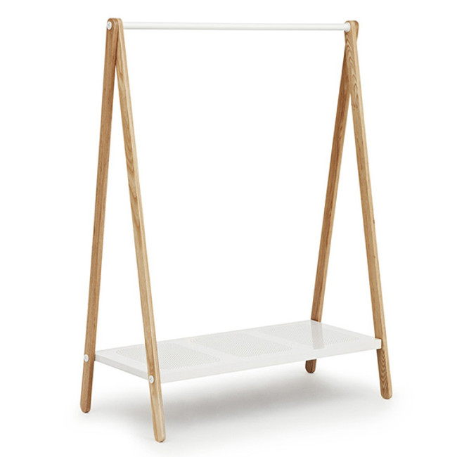 Toj Clothing Rack Large White