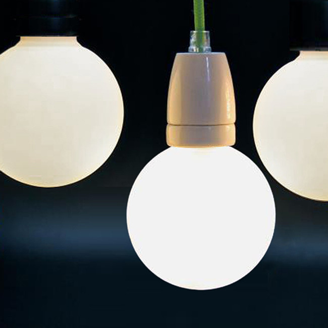 NUD Collection  |  Cord And Socket With LED Frosted Globe
