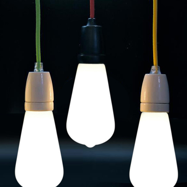 NUD Collection  |  Cord With Edison LED Frosted Globe
