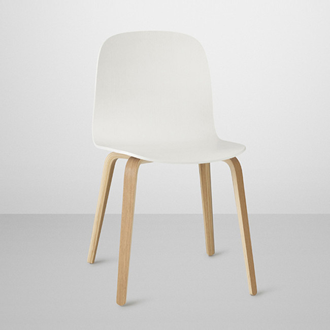 Muuto  |  Visu Chair White/Oak