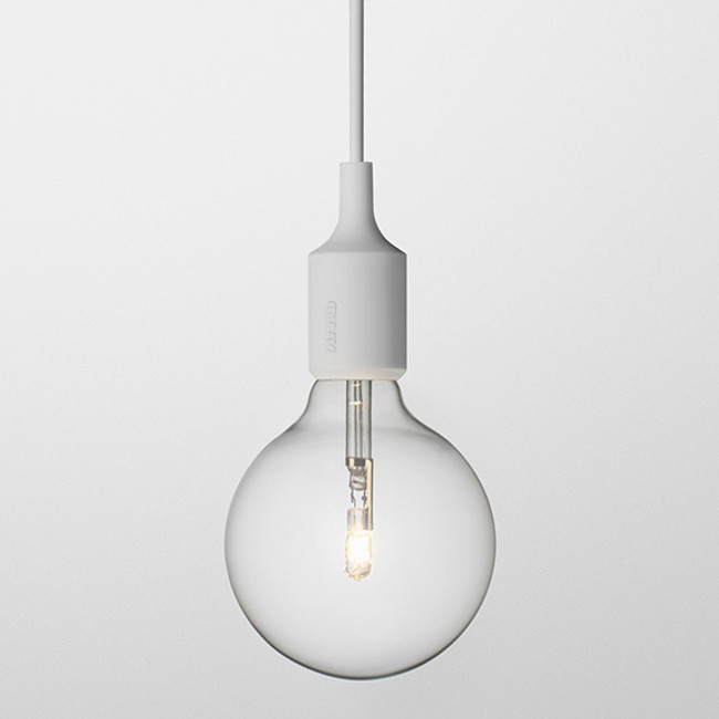 Muuto  |  E27 Pendant Light Grey
