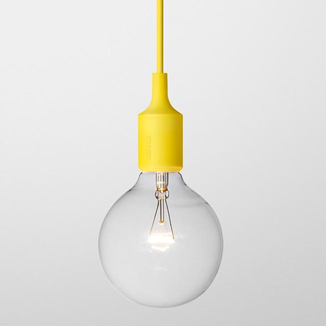 Muuto  |  E27 Pendant Yellow