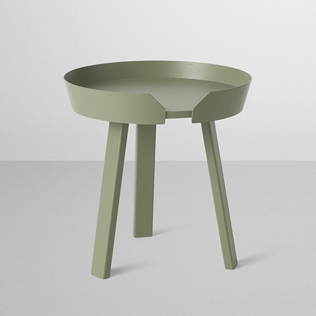 Muuto  |  Around Coffee Table Small Dusty Green