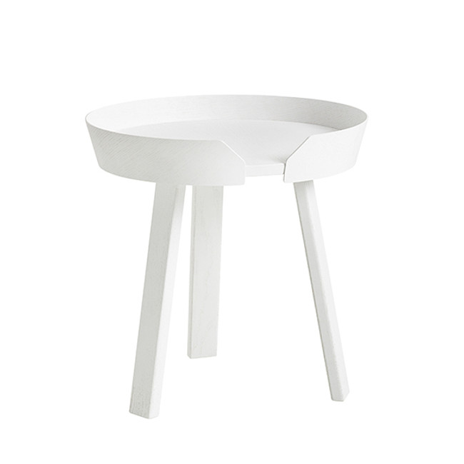 Muuto  |  Around Coffee Table Small White