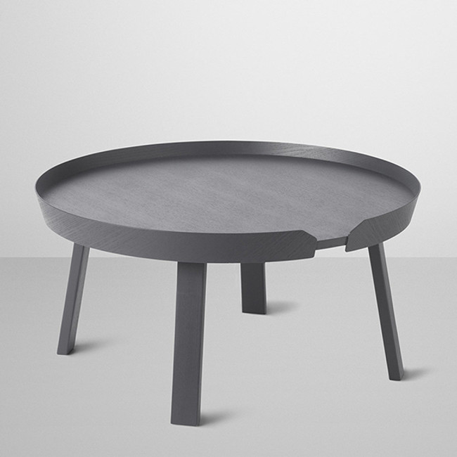 Muuto  |  Around Coffee Table Large Anthracite