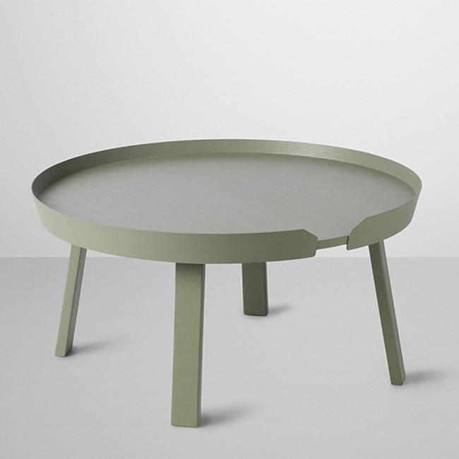 Muuto  |  Around Coffee Table Large Dusty Green