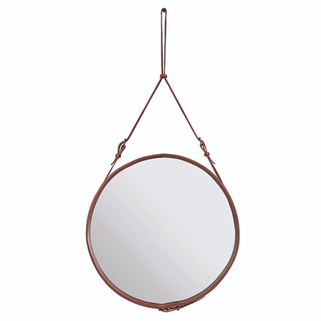 Gubi Adnet Circulaire Mirror L in tan