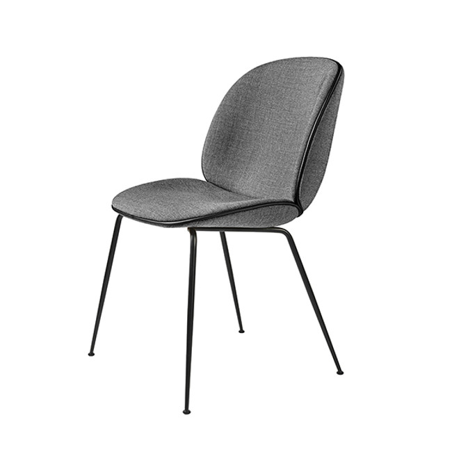 Gubi  |  Beetle Chair Conic Base Fully Upholstered