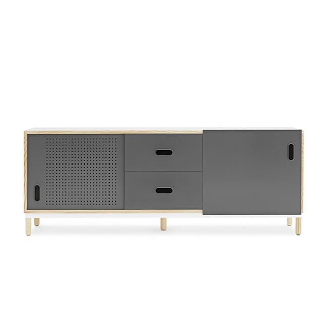Normann Copenhagen Kabino Sideboard with Drawers in Grey
