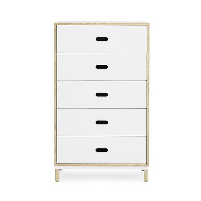 Normann Copenhagen  |  Kabino Dresser with 5 Drawers
