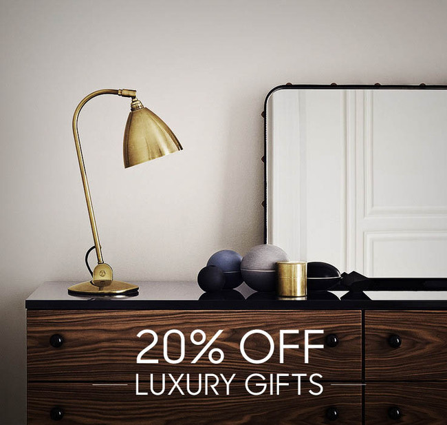Enjoy 20% off our luxury gifts selection