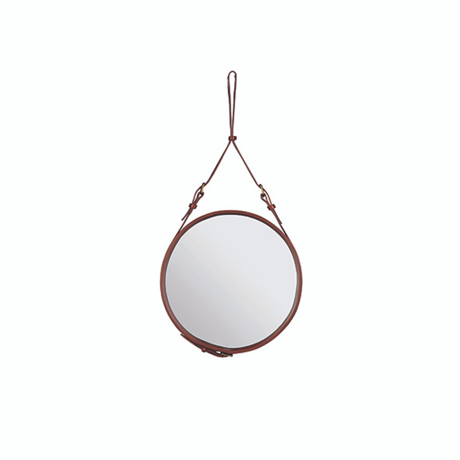 Gubi Adnet Circulaire Mirror S in Tan