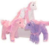 Soft, Curly Plush Pony