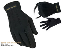 Heritage Power Grip Nylon Gloves, Sizes 3 - 7